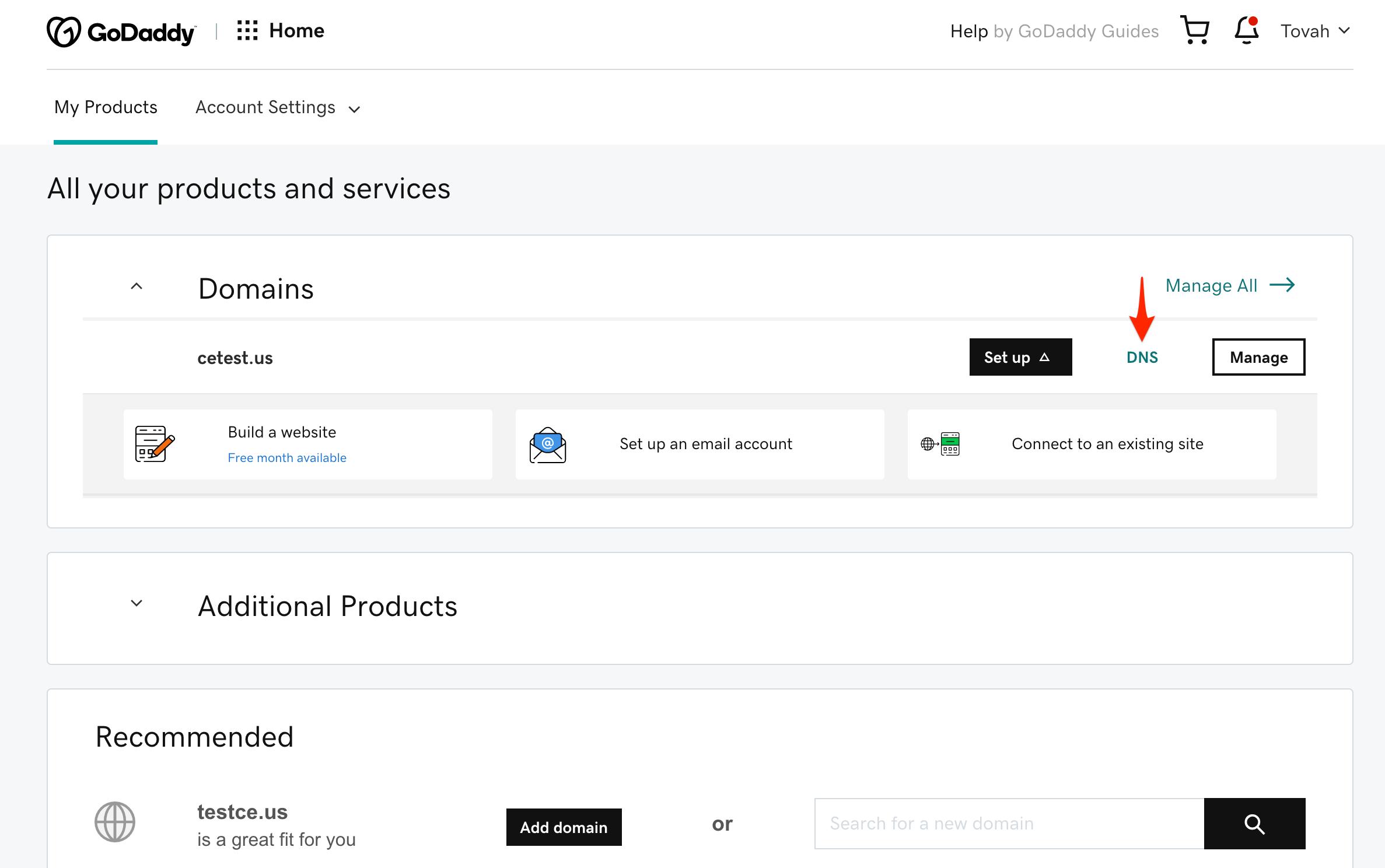 teachable custom domain