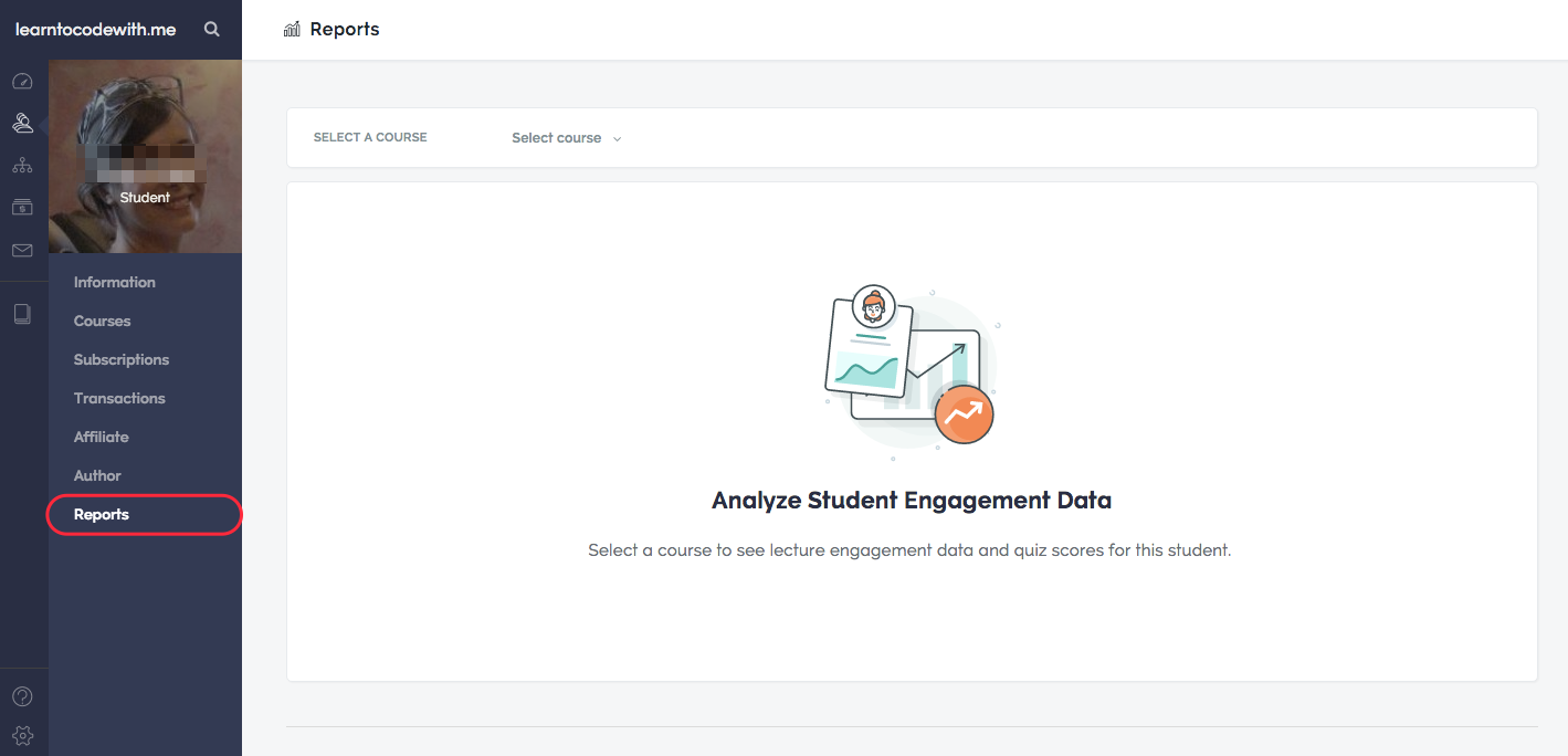 Accessing Student Reporting Tools – Teachable