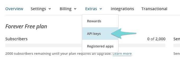 mailchimp-account-extras-api-keys