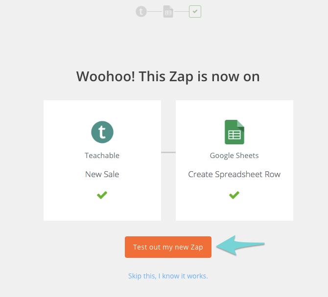 test-new-zap
